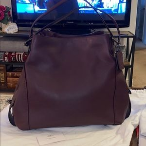 Coach Edie 36 Glovetanned leather